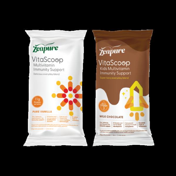 Zeapure VitaScoop Multivitamin Immunity Support Sachet Packs